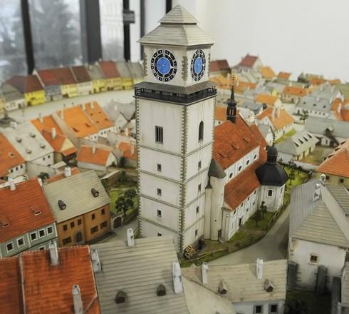 Model města Třebíče