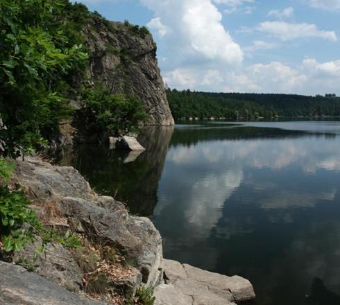 Kolem Dalešické přehrady